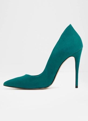 Aldo Deri Stiletto Ayakkabı Yeşil
